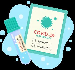 PCR-Test oder Antigen-Schnelltest Ergebnis online abrufen